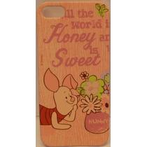 Funda Protector Mobo Apple Iphone 5/5s Piglet Hunny/rosa