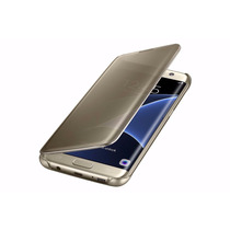 Funda Samsung Galaxy S7 Edge S-view Flip Cover Clear Colores