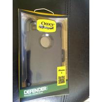 Protector Otterbox Iphone 6/6s Negro Uso Rudo Clip El Mejor