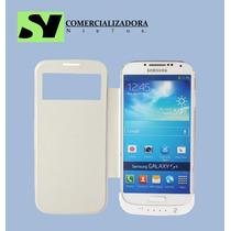 Funda Cargador S-view Galaxy S4 Bateria Externa
