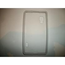 Protector Silicon Case Lg Optimus L5x Color Blanco!