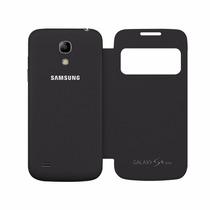 Samsung Galaxy S4 Mini I9190 Flip Case Cover S View Negro