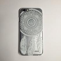 Funda Para Iphone 6/6s Plus Transparente Atrapa Sueños