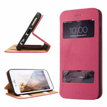 Funda Iphone 6 Plus Cover, Labato® Leather Stand