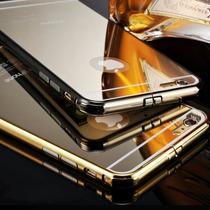 Bumper Aluminio + Mica Espejo Iphone 6, 6 Plus, S6 Edge, Not