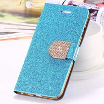 Funda Cartera Piel Diamantina Exterior Iphone 6 Plus 6s Plus