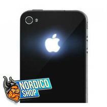 Tapa Iphone 4s Con Luz Led Que Ilumina El Logo Manzana