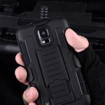 Funda Clip Uso Rudo Hibrido 3 En 1 Armor Galaxy S5