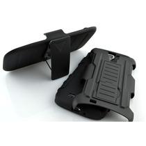 Funda Clip Uso Rudo Hibrido 3 En 1 Armor Galaxy S4 Mini