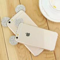 Tpu Transparente Orejas Mickey Mouse Iphone 6 / 6s