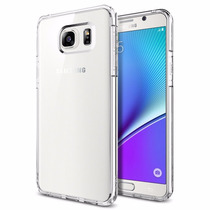 Case Bumper Funda Spigen Samsung Galaxy Note 5 Transparente