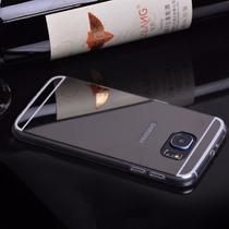 Accesorios Premium Espejo Galaxy S7 Edge Plata Tpu