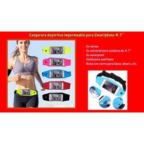 Cinto Cangurera Deportiva Para Celular 4.7 Iphone Samsung Lg