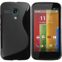 Protector Tpu Plastico Con Mica Incluida Motorola Moto G