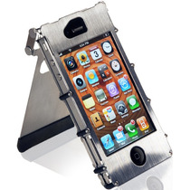 Crinox4sx Crkt Inox Case 360 Funda Iphone 4 Y 4s D/acero