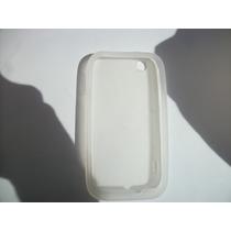 Protector Silicon Case Lg Optimus Sol E730 Color Blanco!!!