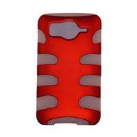 Funda Protector Mixta Htc Inspire 4g Blanco / Rojo Titanium