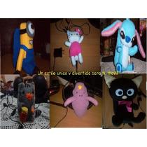 Fundas Para Celular... Minion, Kitty, Stitch, Chococat, Hda