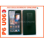 Clip Combo Protectr Nextel Huawei Ascend P6 Muse Angel Negro