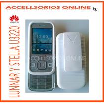 Clip Combo Protector Huawei Lunnar Stella U3220 Blanco!!!!!!