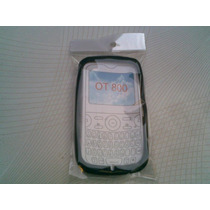 Wwow Silicon Skin Case Para Alcatel Ot800!!!