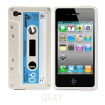 Funda Ice Cassette Para Ipnone 4 Y 4s