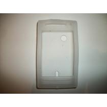 Protector Silicon Case Sony Ericsson Xperia X8 Color Blanco!