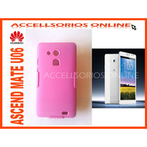 Clip Combo Protector Nextel Huawei Ascend Mate U06 Rosa Maa
