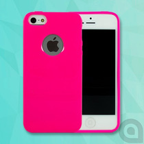Hermosa Funda Candy Colors Pastel Silicon Tpu Iphone 5s 5