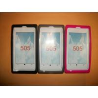 Promo Funda De Silicon Nokia 505 Lumia!!!