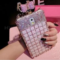 Urano Shop Preciosa Carcasa Perfume Pedreria-cristal Samsung