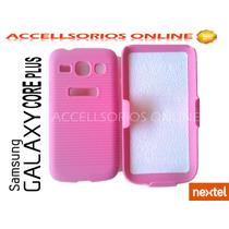 Clip Combo Funda Samsung Galaxy Core Plus G350 Nextel Rosa !