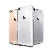 Funda Transparente Flexible Para Iphone 6 Y 6 Plus