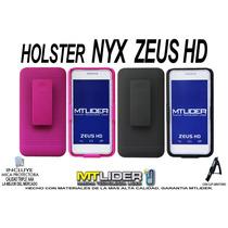 Funda Holster Case Combo Clipnyx Zeus Hd + Mica Gratis