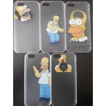 Lote 10 Case Simpsons Homero Iphone 5 5s, 5 Mod Envio Gratis
