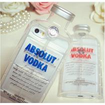 Funda Iphone 5 / 5s En Forma De Botella De Vodka Absolut