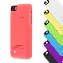 Funda Bateria Iphone 5 5s 5c 2200 Mah +mica +stylus Y Regalo