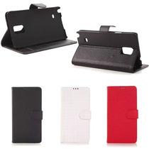 Funda Tipo Cartera Para Samsung Galaxy Note 4 N910 + Mica
