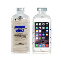 Funda Iphone 6 Estuche Forma Botella Absolut Vodka