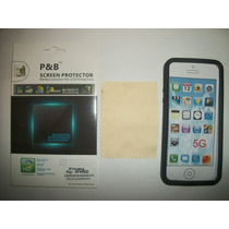 Kit 3x1 Silicon+ Mica Privacidad+ Paño Iphone 5s!!!