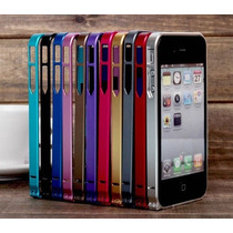 Bumper Ultra Delgado 0.7mm Iphone 5 5s Micas Gratis ¡¡¡