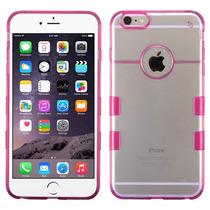 Funda Case Carcasa Protector Doble Transparente Iphone 6 Hp