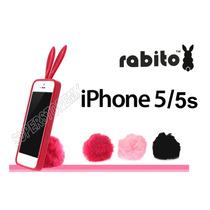 Iphone 5 5s Funda Rabito Protector Forma Conejo Envio Gratis