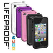 Funda Lifeproof Contra Golpes Y Agua Para Iphone 4 / 4s