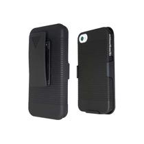 Funda Clip Holster 3 En 1 Para Iphone 4g Y 4s + Regalo