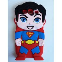 Envío Gratis Funda Para Galaxy S3mini Superman Super Heroes