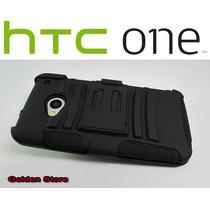 Htc One Funda Con Clip Para Cinturon 3 Capas Otter