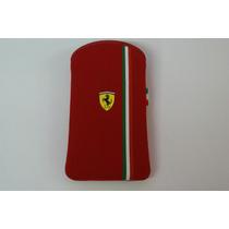 Funda Celular Scuderia Ferrari Rojo Cg Mobile Iphone 3/4
