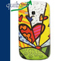 Carcasa Protector Galaxy S3 Mini I8190 Collage Corazon Vert