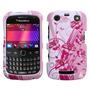 Funda Protectora Blackberry Curve 3 9360 Blanco Con Rosas